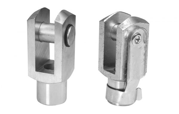 Yokes with Clevis & Lockable Pins
